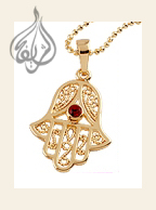 Hamsa Pendant with Chain [PDT-900]
